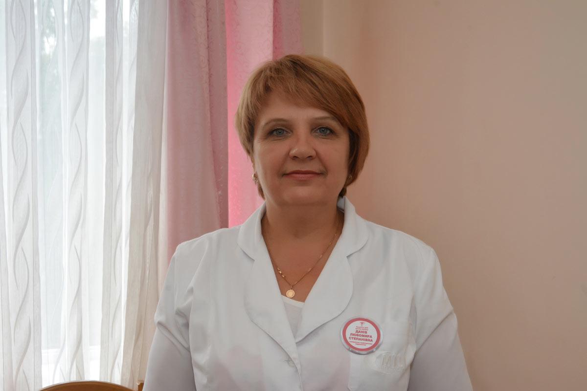 Данів Любомира Степанівна